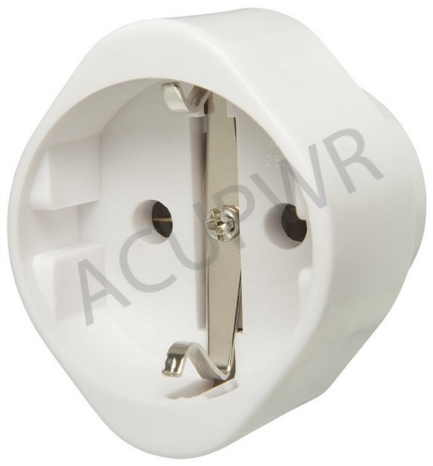 France to USA Plug Adapter AC-29 - ACUPWR USA  - 1