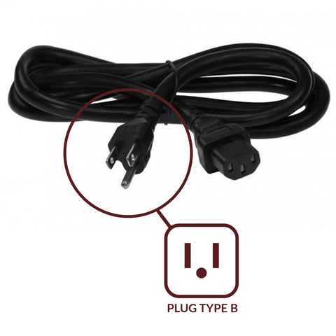 ACUPWR IEC C13 Power Cords for Worldwide Use - ACUPWR USA  - 1