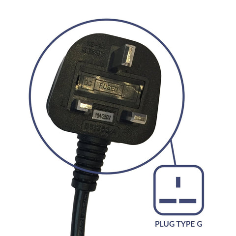 ACUPWR 2000-Watt Voltage Transformer (AUD-2000IEC) Type G plug
