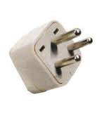 Any Shape to Type D Plug Adapter