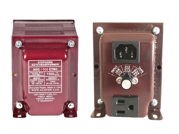 ADC-1500-Watt Refrigerator Voltage Transformer