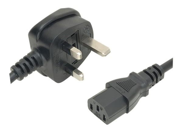 ACUPWR - UK (Type G) to IEC320 C14 1.0mm Power Cable