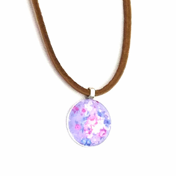 Floral Leather Necklace - Necklace - 5