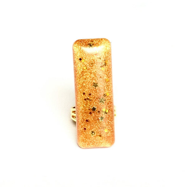 Star Gold Bar Ring