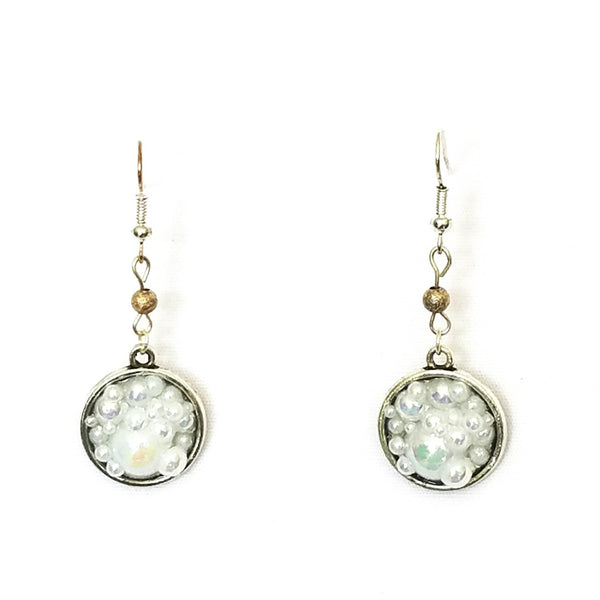 Bubble Circle Earrings - Earrings - 1