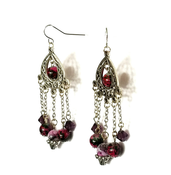 Chandelier Bead Earrings - Earrings - 3
