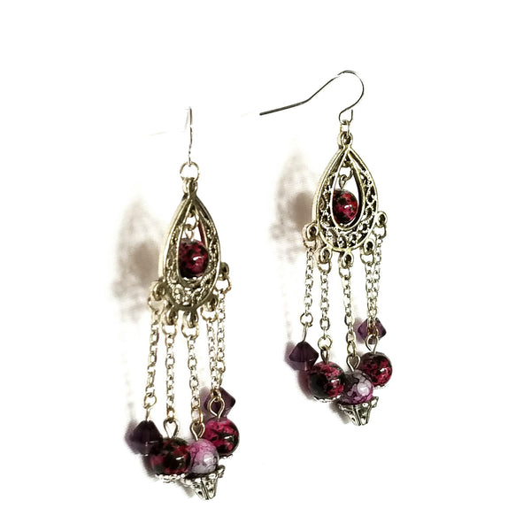 Chandelier Bead Earrings - Earrings - 4