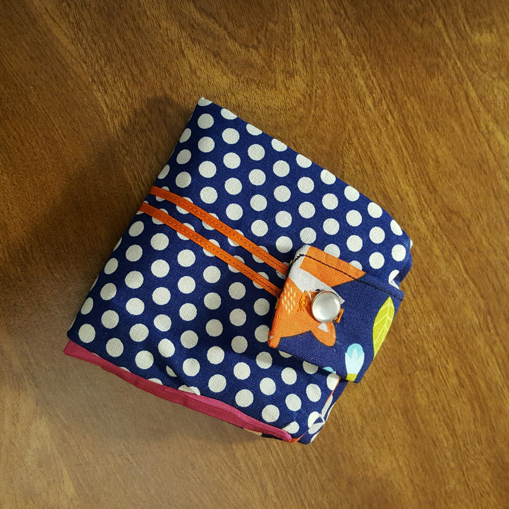 Polka dot Fox Wallet - wallet - 1