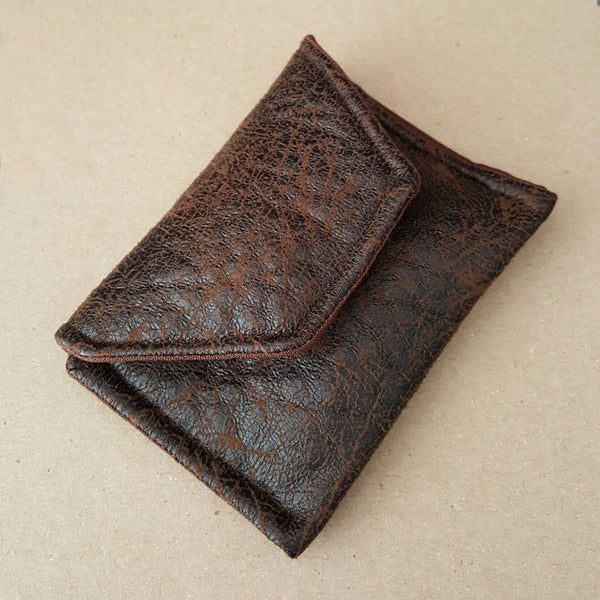 Brown Leather-look Wallet
