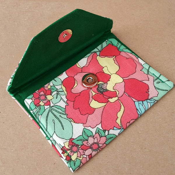 Tropical Floral Wallet