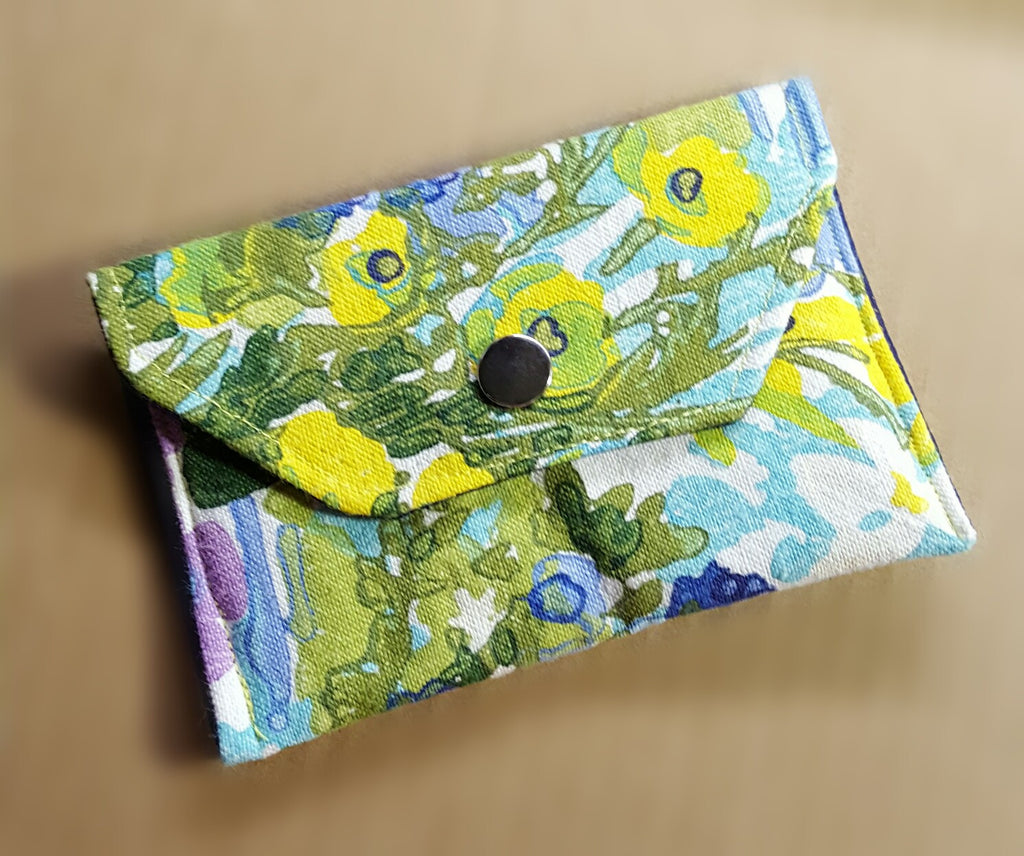Watercolor Floral Wallet