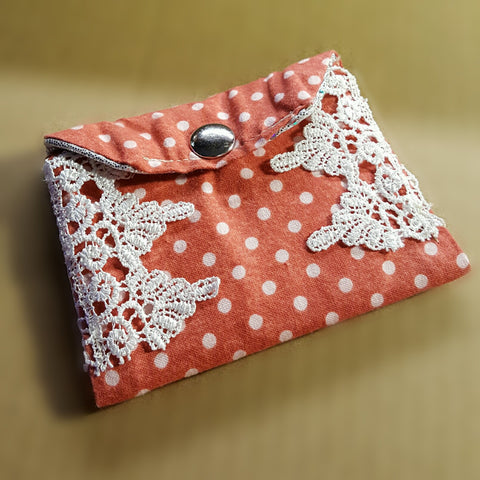Red Polka Dot Wallet