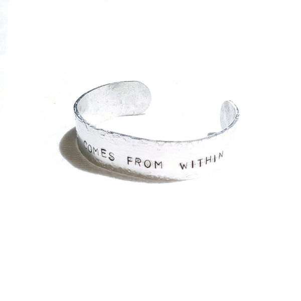 Happiness Stamped Bracelet - Bracelet - 2