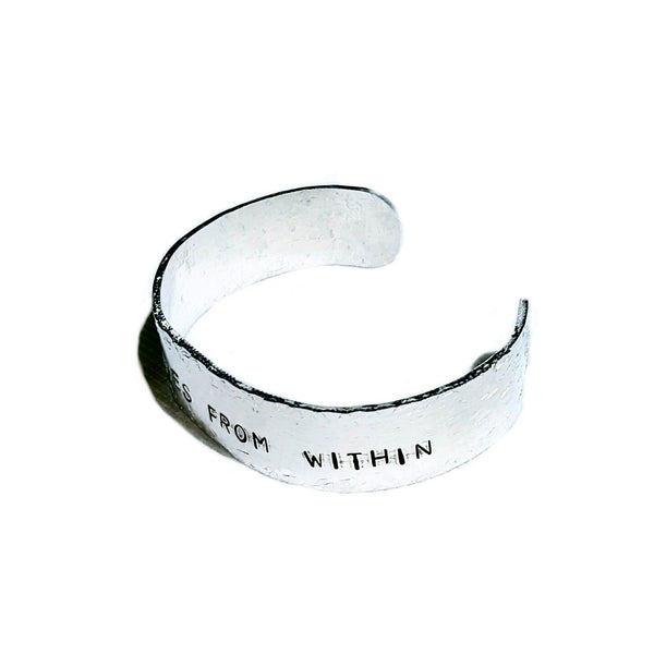 Happiness Stamped Bracelet - Bracelet - 3