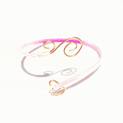Pink and Gold Armband - Bracelet - 1