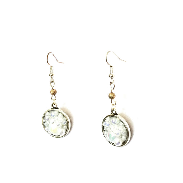 Bubble Circle Earrings - Earrings - 3