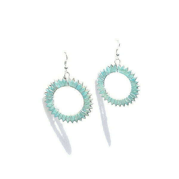 Glow in the Dark Spike Earrings - Earrings - 3