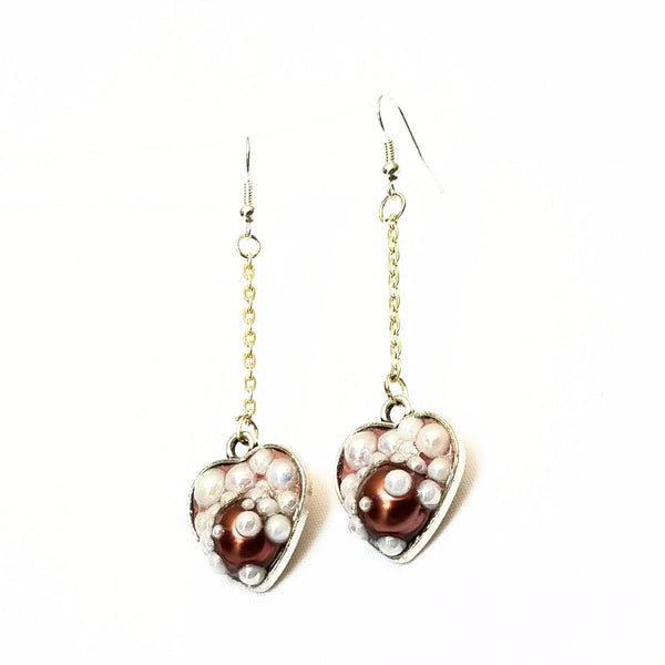 Heart Shaped Bubble Earrings to Support Phoenix House | MysticTrinketShop.com - Earrings - 6