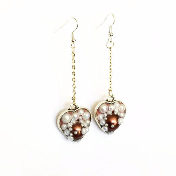 Heart Shaped Bubble Earrings to Support Phoenix House | MysticTrinketShop.com - Earrings - 7