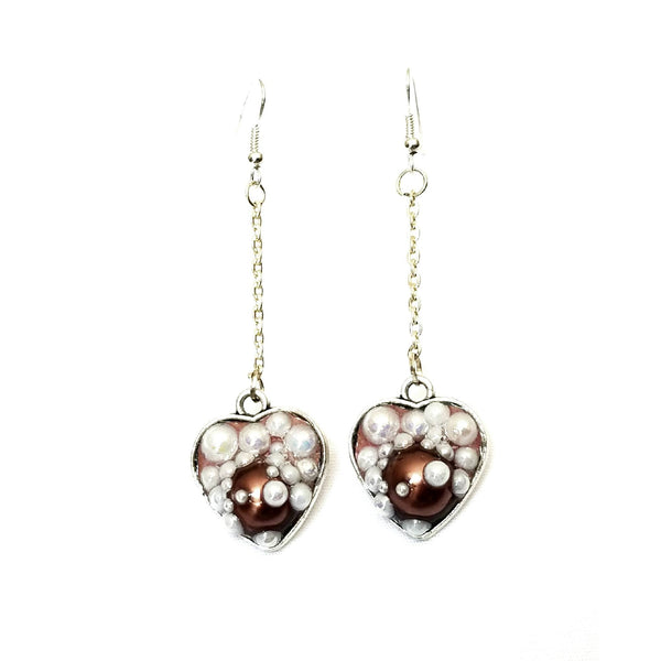 Heart Shaped Bubble Earrings to Support Phoenix House | MysticTrinketShop.com - Earrings - 8