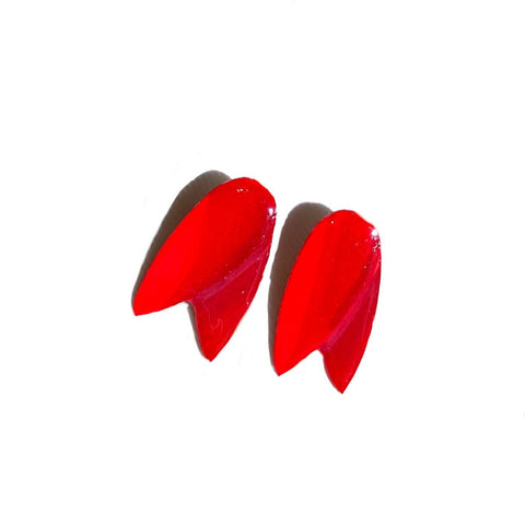 Earrings - Red Tulip Earrings