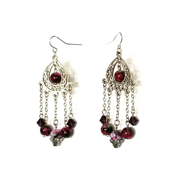 Chandelier Bead Earrings - Earrings - 1