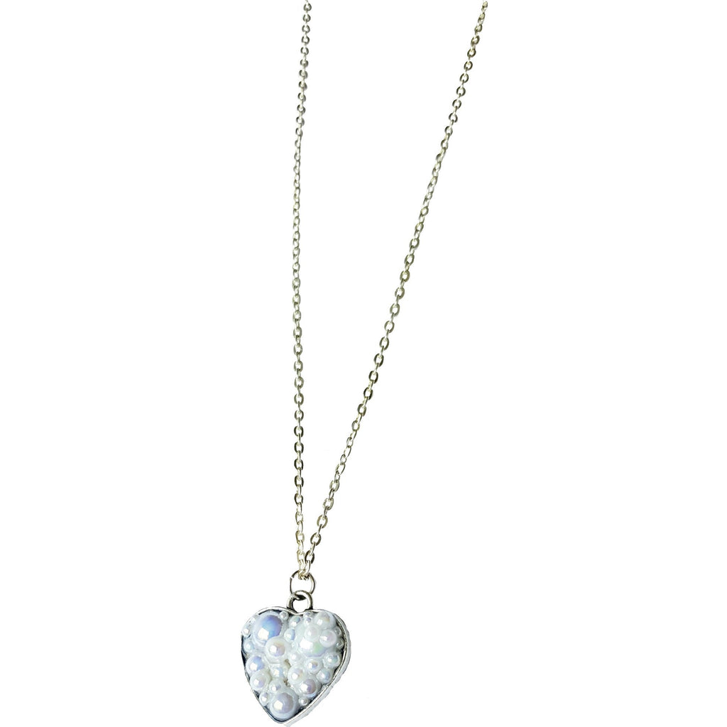 Bubble Heart Necklace to Support Phoenix House | MysticTrinketShop.com - Necklace - 1
