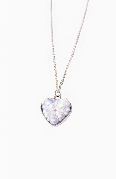 Bubble Heart Necklace to Support Phoenix House | MysticTrinketShop.com - Necklace - 2