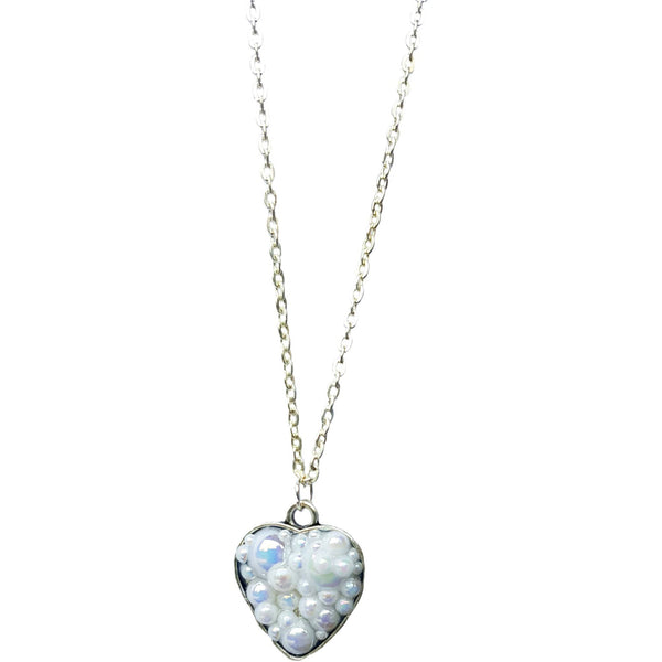 Bubble Heart Necklace to Support Phoenix House | MysticTrinketShop.com - Necklace - 3