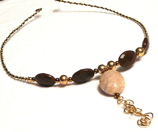 Copper Serpent Egg Choker - Jewelry - Necklace - 2