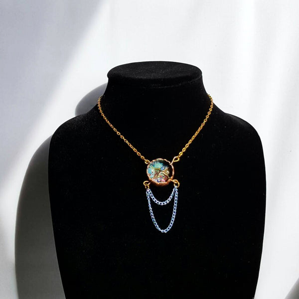 Copper Tube Pendant Necklace | MysticTrinketShop.com - Necklace - 3