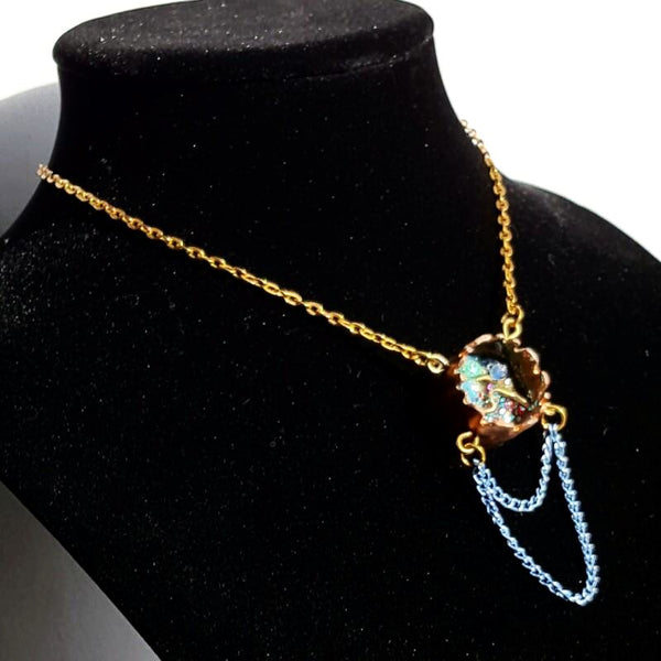 Copper Tube Pendant Necklace | MysticTrinketShop.com - Necklace - 4