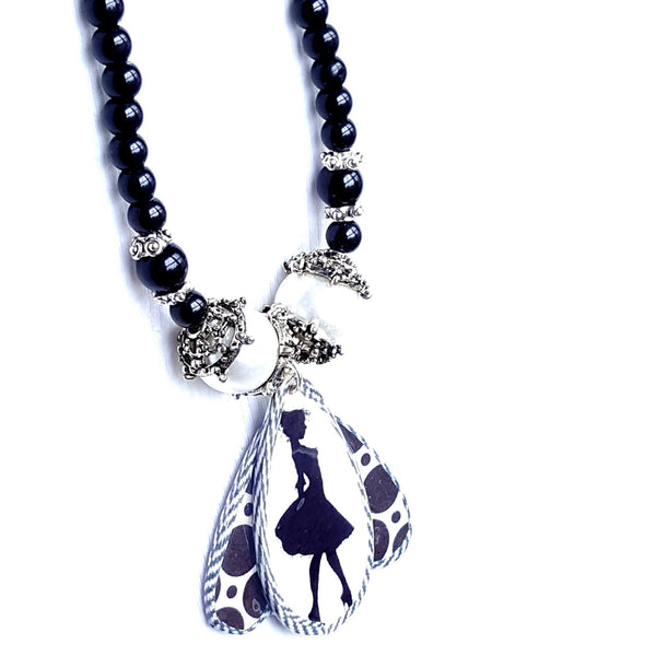 Lady Silhouette Necklace | MysticTrinketShop.com - Necklace - 1