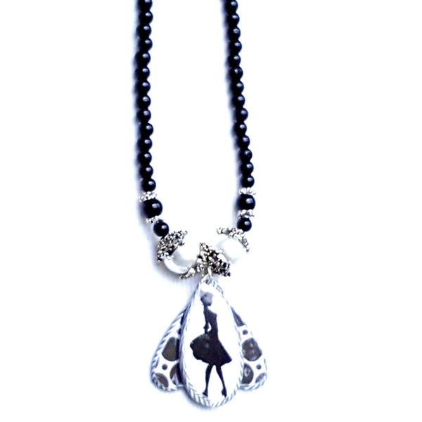 Lady Silhouette Necklace | MysticTrinketShop.com - Necklace - 3