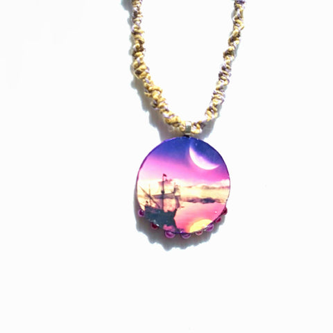 Neverland Hemp Necklace - Necklace - 1