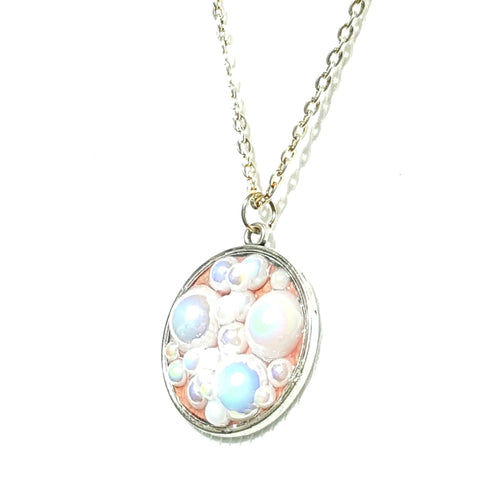 Pink Bubble Necklace - Necklace - 1