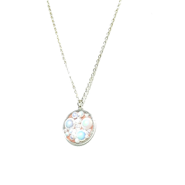 Pink Bubble Necklace - Necklace - 2