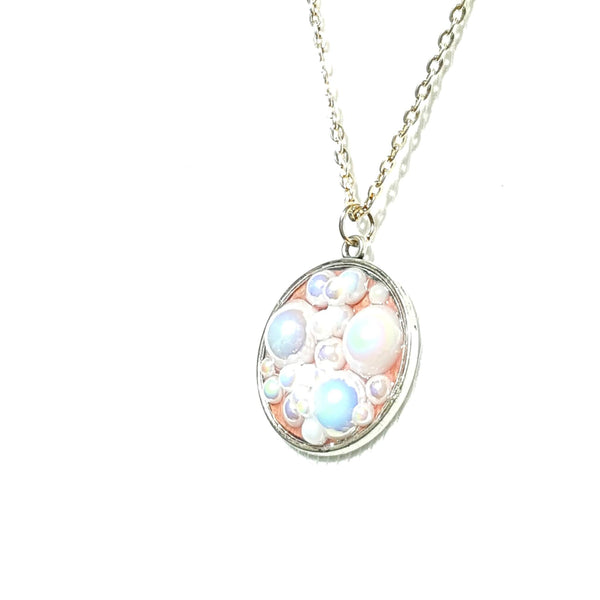 Pink Bubble Necklace - Necklace - 3