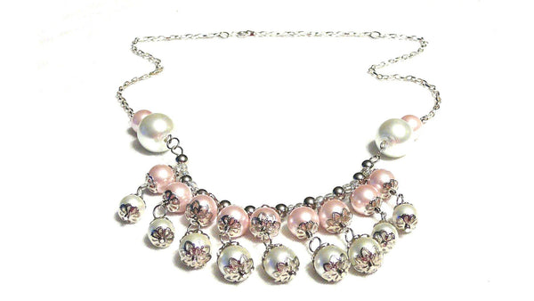 Pink Pearl Necklace | MysticTrinketShop.com - Necklace - 6