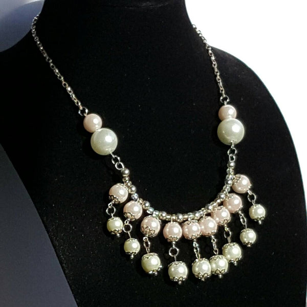 Pink Pearl Necklace | MysticTrinketShop.com - Necklace - 3