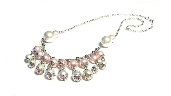 Pink Pearl Necklace | MysticTrinketShop.com - Necklace - 4