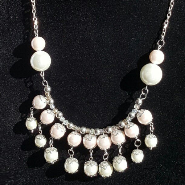 Pink Pearl Necklace | MysticTrinketShop.com - Necklace - 7