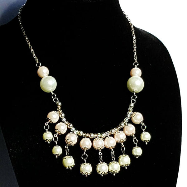 Pink Pearl Necklace | MysticTrinketShop.com - Necklace - 8