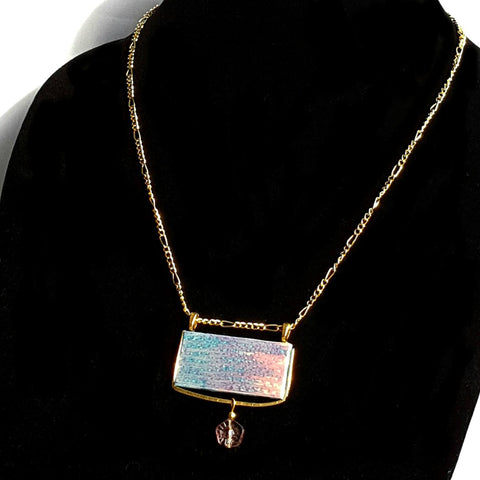 Rectangle Pantone Pendant Necklace - necklace - 1
