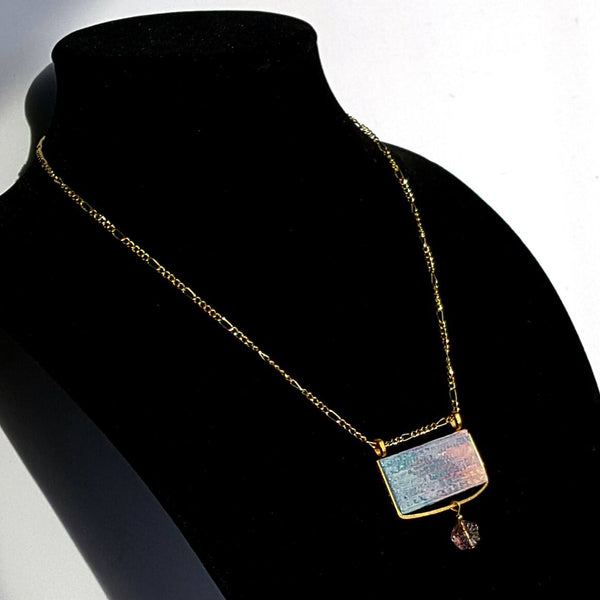 Rectangle Pantone Pendant Necklace - necklace - 2