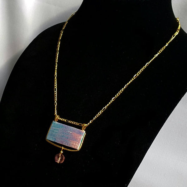 Rectangle Pantone Pendant Necklace - necklace - 3