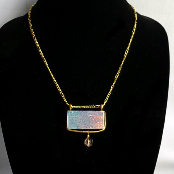 Rectangle Pantone Pendant Necklace - necklace - 4