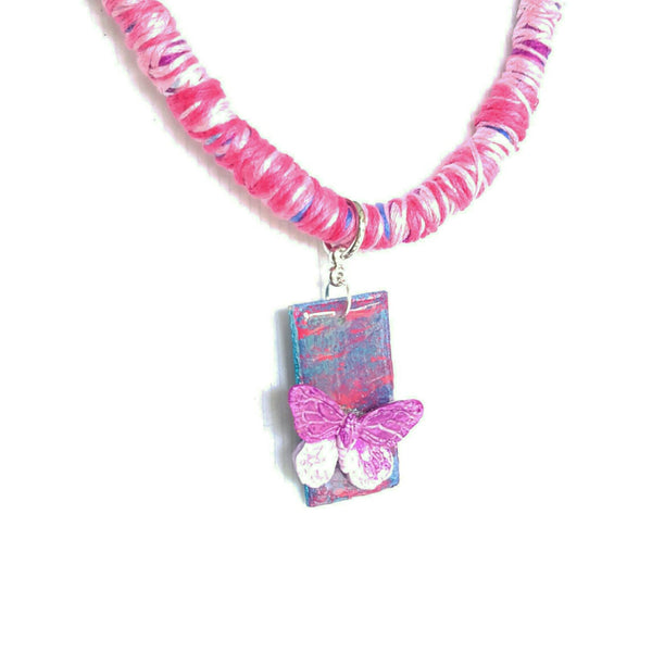 Soft Butterfly Necklace - Necklace - 2
