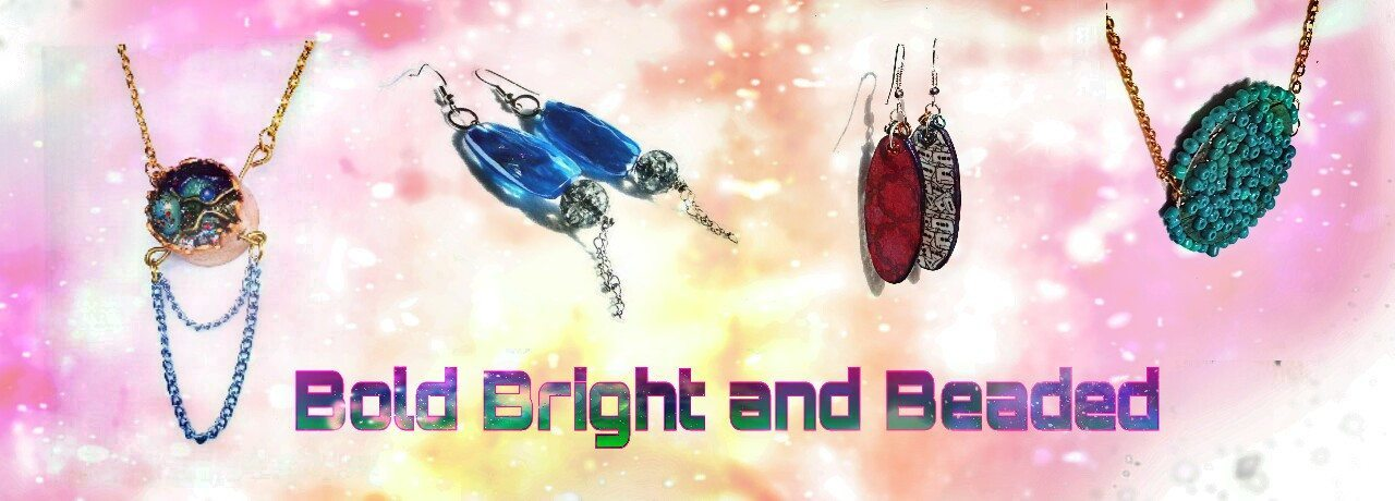 Bold Bright and Beaded Jewelry Collection