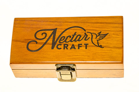 Fancy Wood box with metal latch